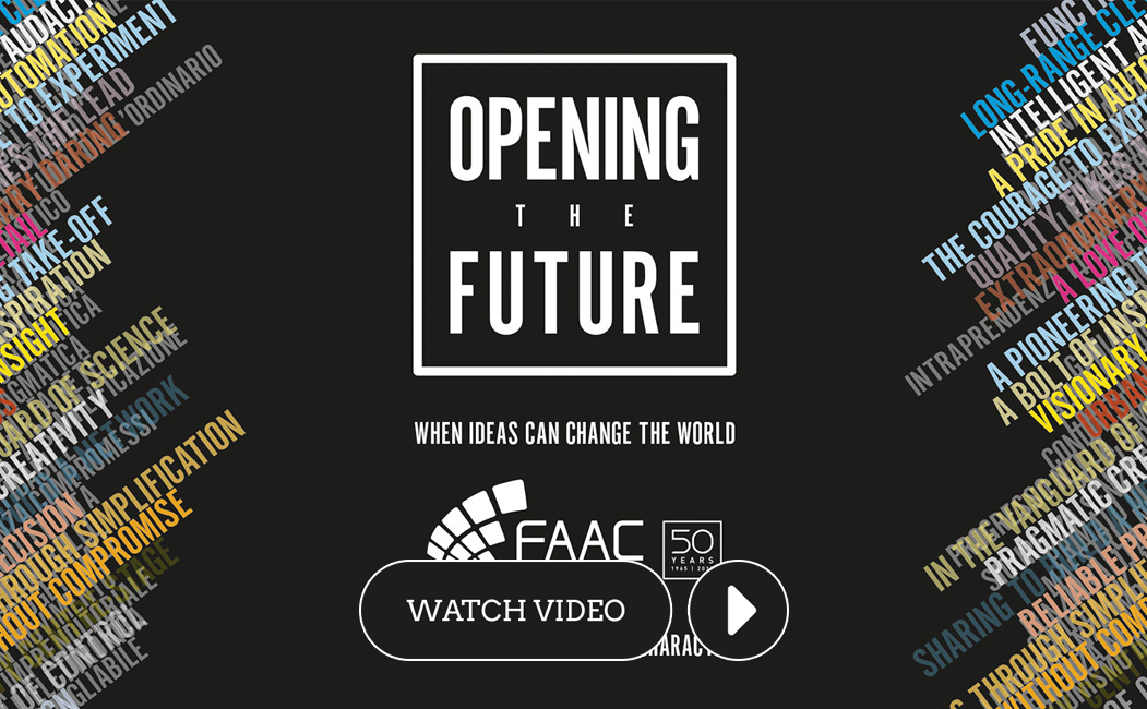 'Opening the Future': 50 years of FAAC as told by Menabò Group.