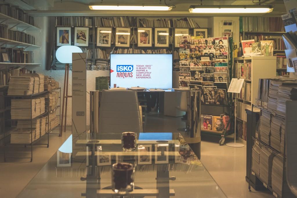 Menabò, agenzia di comunicazione a Forlì, per il doppio evento di lancio di ISKO Arquas™ - Dettaglio Milano