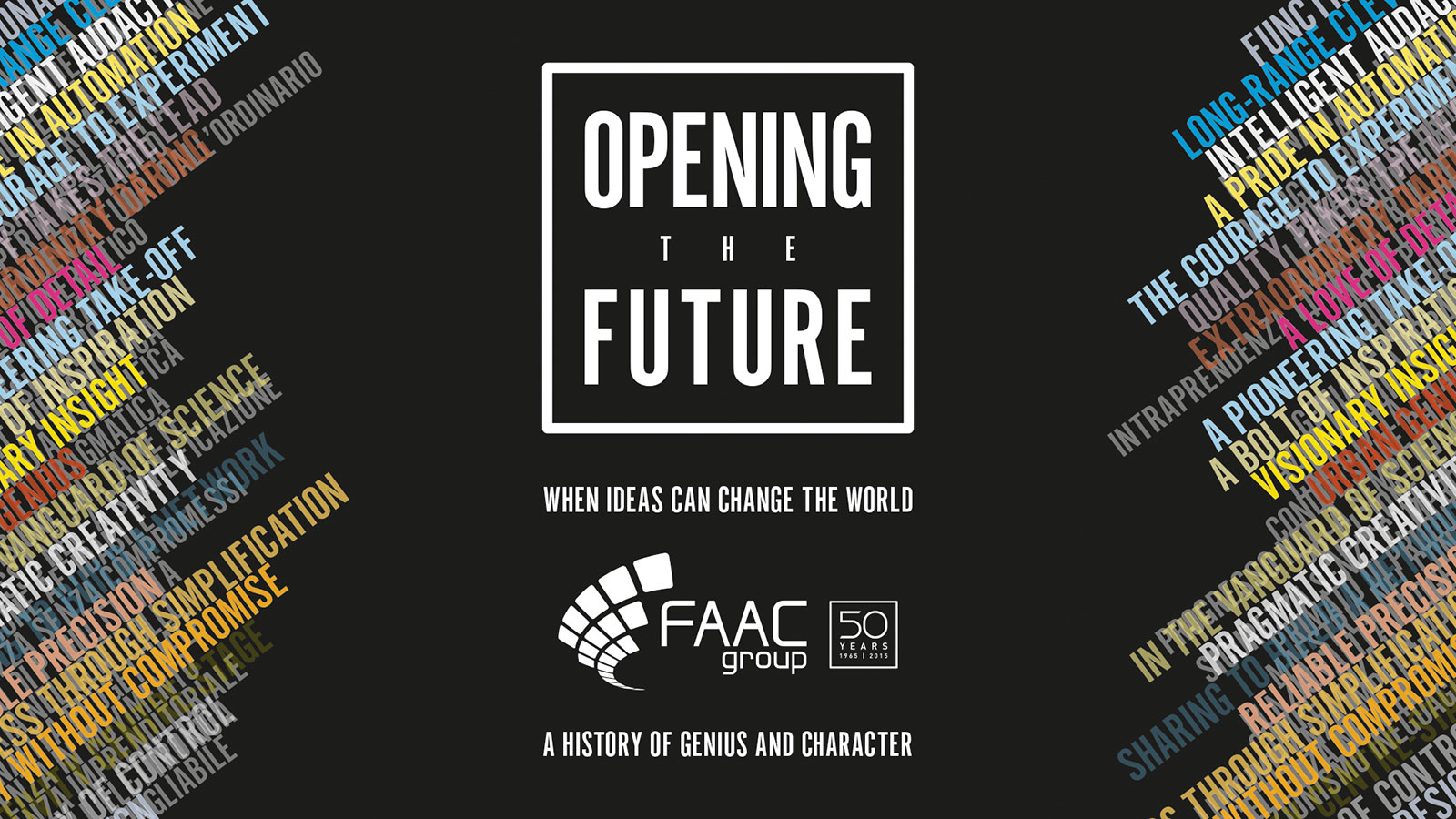 Menabò, agenzia di comunicazione a Forlì, per il 50° anniversario di FAAC - Cover della news