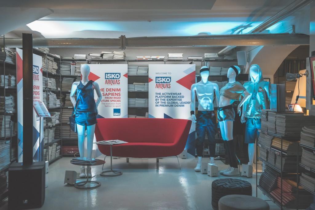 Menabò, agenzia di comunicazione a Forlì, per il doppio evento di lancio di ISKO Arquas™ - Location Milano
