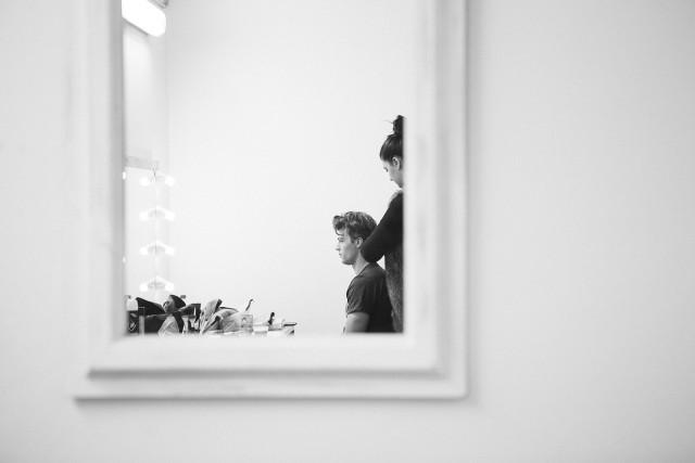 Menabò, agenzia di comunicazione a Forlì per ISKO™ – backstage photoshoot
