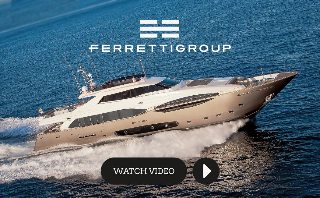 Ferretti Group inaugura l'anno nautico con Menabò