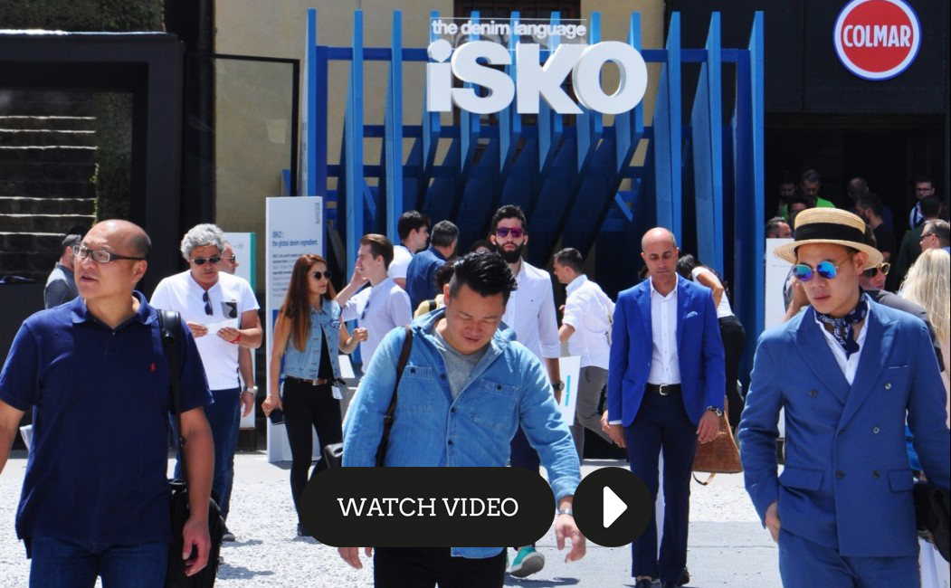 "ISKO™ and Menabò together for the future of denim at Pitti Uomo with the presentation of ""The Winner Cellar – a selection of talents and denim innovation by ISKO™""."