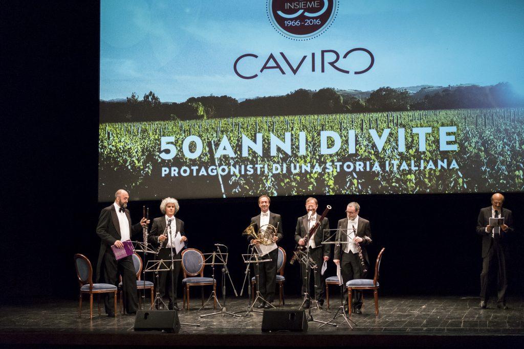 Menabò, agenzia di comunicazione a Forlì, per i 50 anni di Caviro - Musicisti