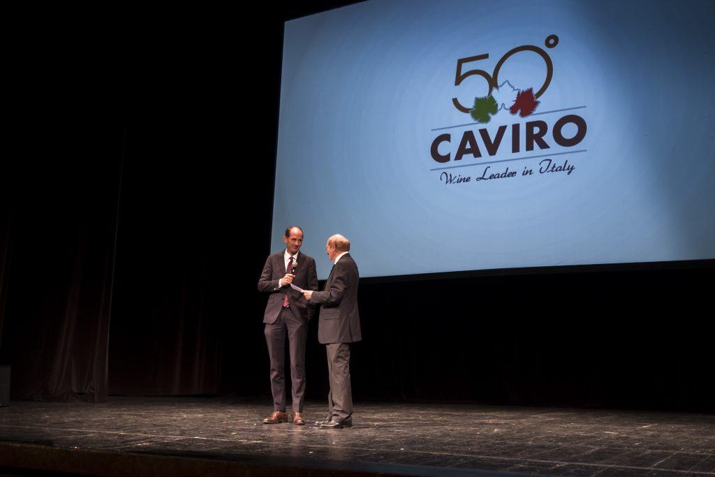 Menabò, agenzia di comunicazione a Forlì, per i 50 anni di Caviro - Palco