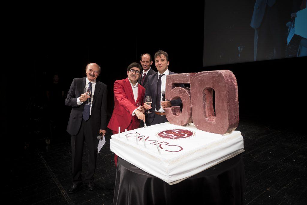 Menabò, agenzia di comunicazione a Forlì, per i 50 anni di Caviro - Taglio della torta