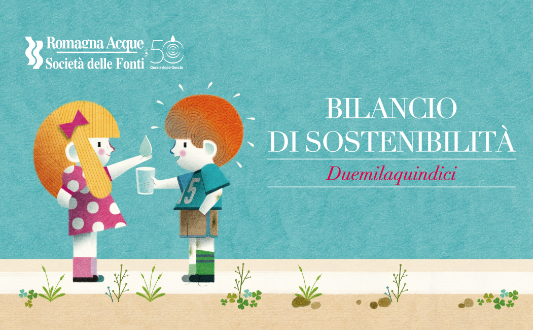 "Romagna Acque presents its 2015 ""Sustainability Report"" with Menabò"