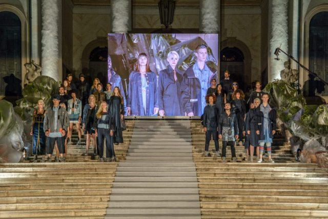 Menabò, agenzia di comunicazione a Forlì, per la finale di ISKO I-SKOOL™ 3 – Sfilata