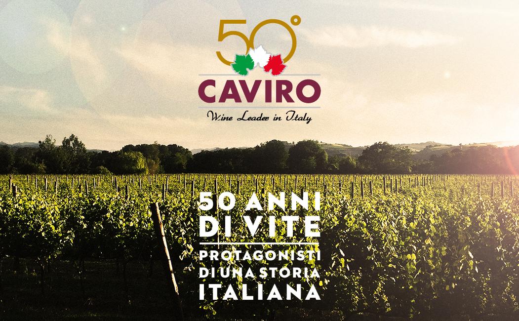"""""""50 anni di vite: protagonisti di una storia italiana"""" con Caviro"""