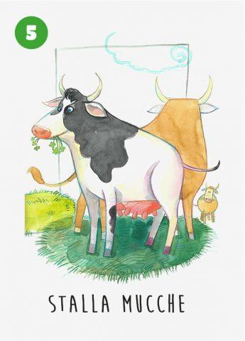 Menabò, agenzia di comunicazione a Forlì per TreValli Cooperlat in collaborazione con Alimos – Cartolatte illustrate