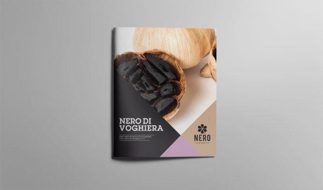 Menabò, agenzia di comunicazione a forlì, per Nero di Voghiera - Brochure