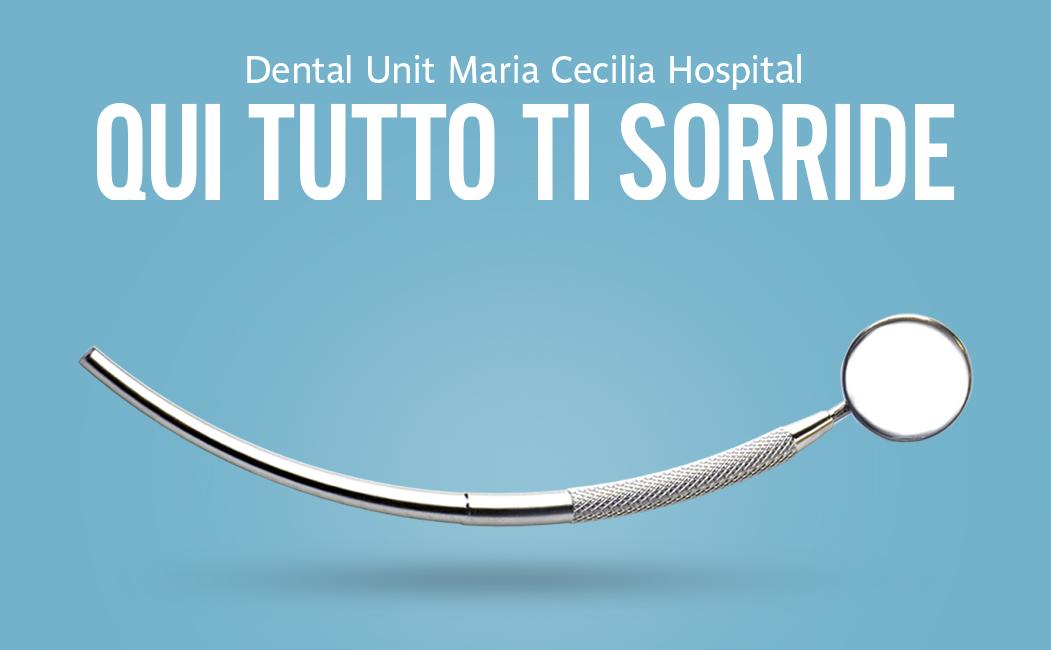 Il sorriso è una cosa seria: con la Dental Unit di GVM Care & Research la salute orale è su misura.