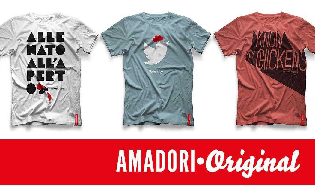 Le t-shirt e felpe Amadori Original arrivano sul web con l'online-store dedicato