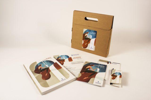 Menabò, agenzia di comunicazione a Forlì, la il Bilancio di sostenibilità 2016 di Romagna Acque - Packaging