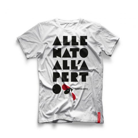 """Menabò, agenzia di comunicazione a Forlì, la linea Original Amadori – T-Shirt """"Allenato all'aria aperta"""""""
