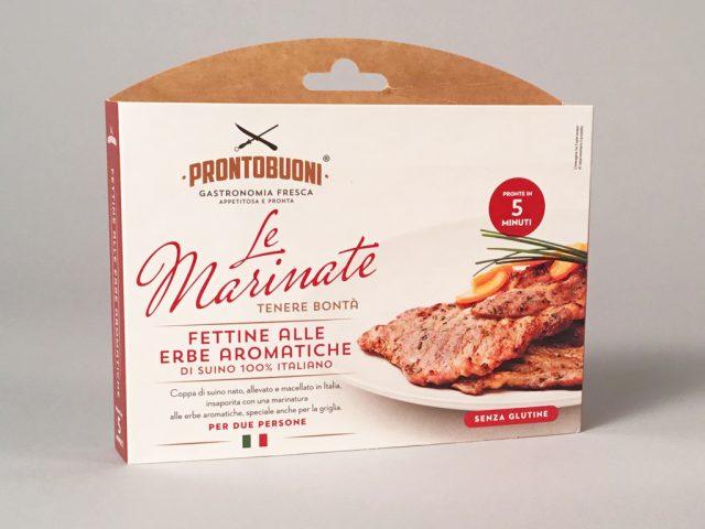 """Menabò, agenzia di comunicazione a Forlì, per """"le Marinate"""" di CEM - Packaging Fettine alle erbe aromatiche"""