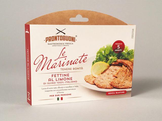 """Menabò, agenzia di comunicazione a Forlì, per """"le Marinate"""" di CEM - Packaging Fettine al limone"""