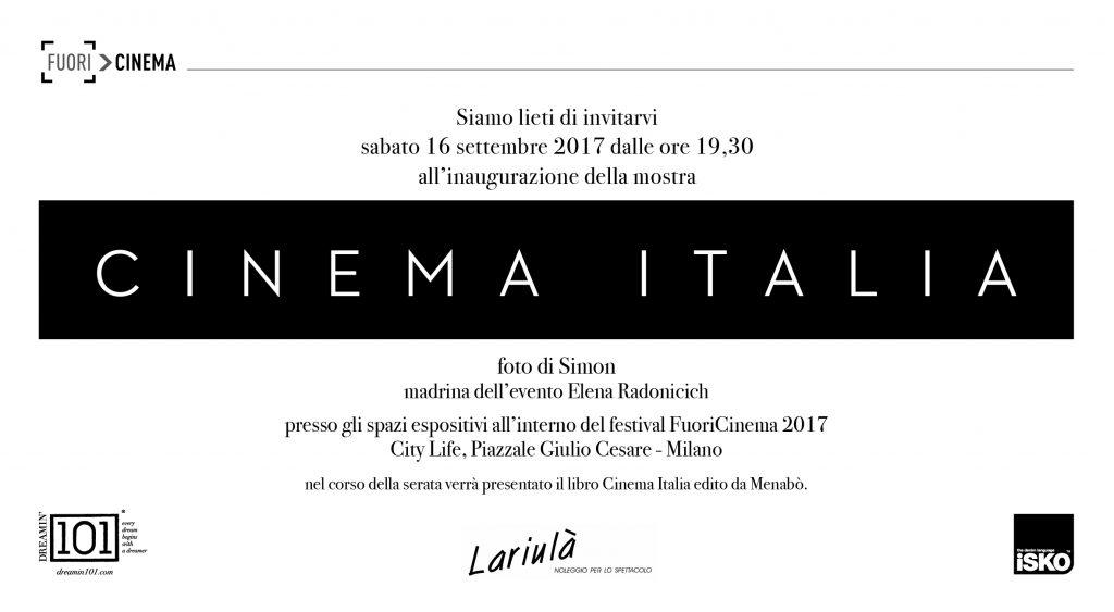 Menabò, agenzia di comunicazione a Forlì, per Cinema Italia - Invito