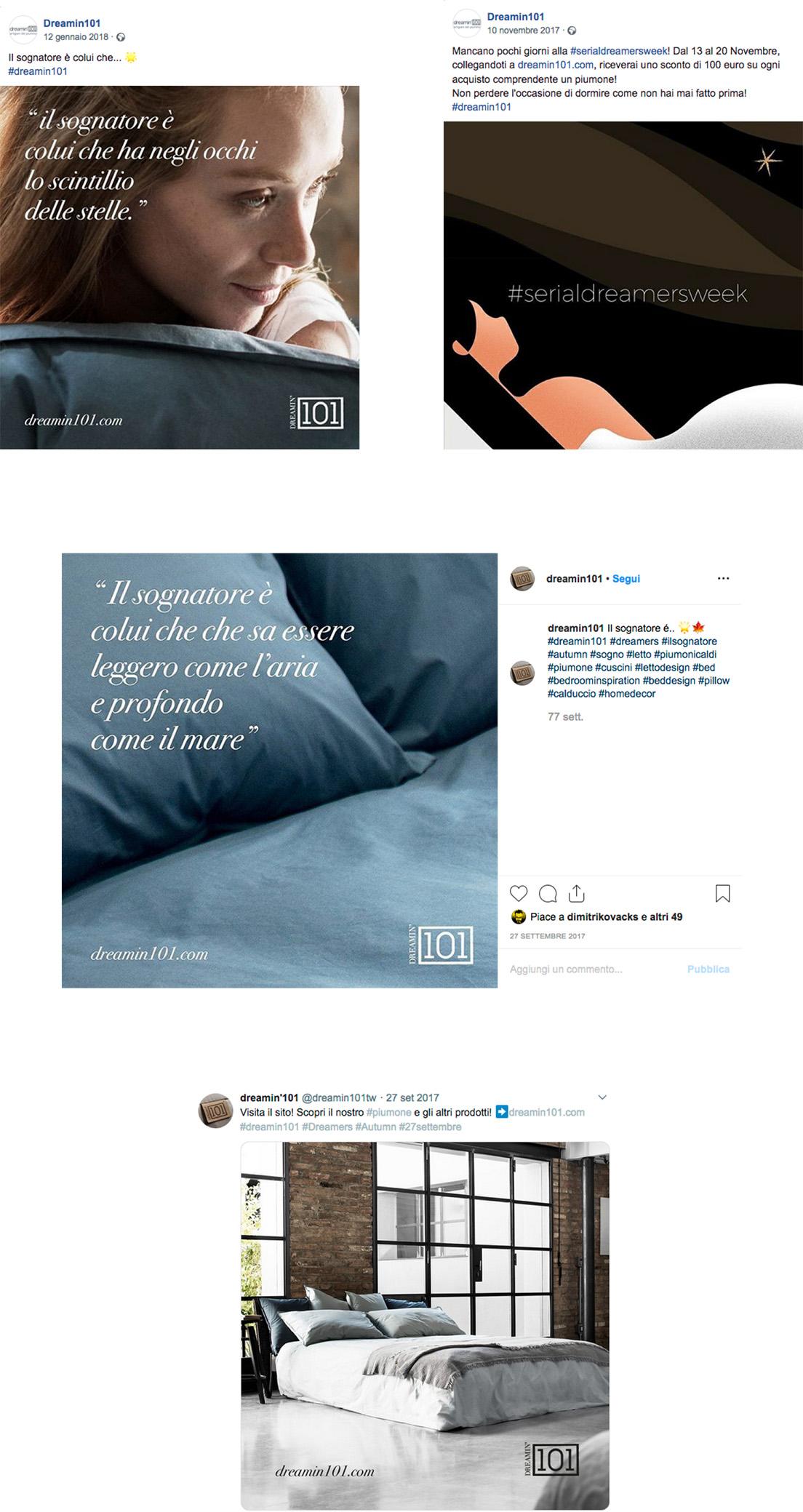 Menabò - Dreamin 101 social