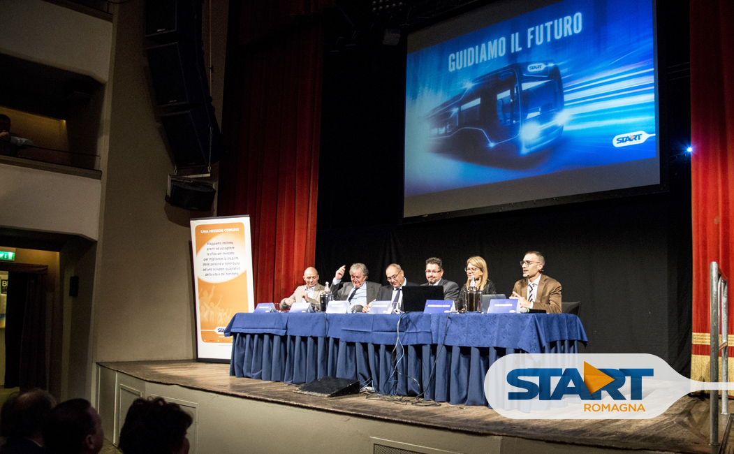 """We drive the future"": an event celebrating the journey of Start Romagna."