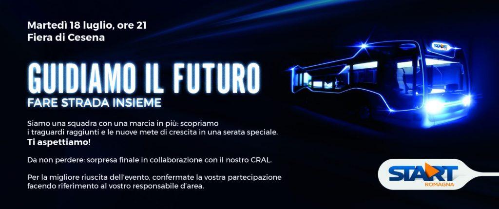Menabò, agenzia di comunicazione a Forlì, per la prima convention di Start Romagna - Invito