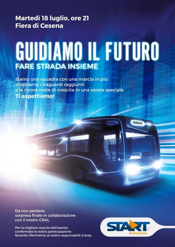Menabò, agenzia di comunicazione a Forlì, per la prima convention di Start Romagna - Locandina