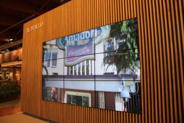 Menabò, agenzia di comunicazione a Forlì, per Amadori a FICO – Videowall