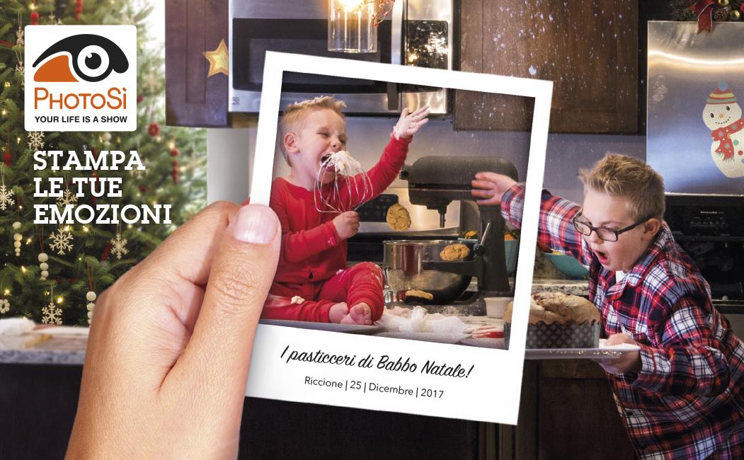 Menabò, agenzia di comunicazione a Forlì, per PhotoSì - Cover della news natalizia