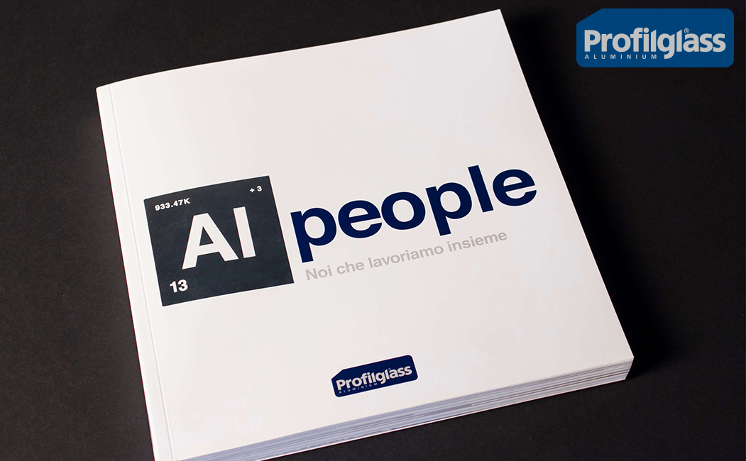 "Profilglass tells about its 35 years in business with the book ""AL people. We who work together"""
