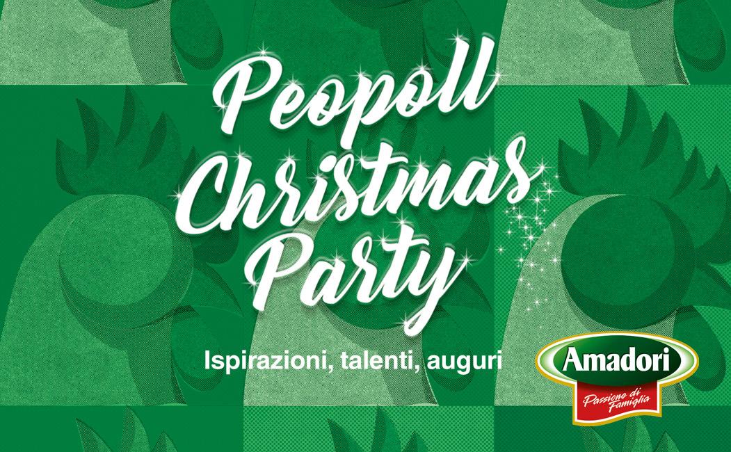 Peopoll Christmas Party: Amadori festeggia il Natale 2017 con un grande evento al Carisport di Cesena