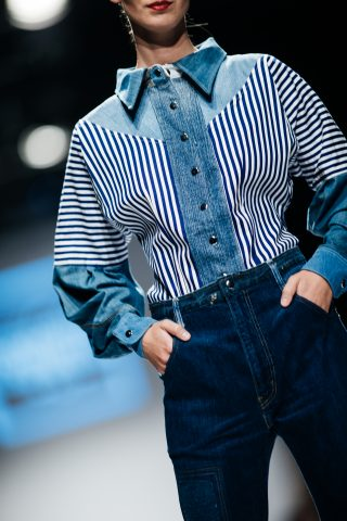 Menabò, agenzia di comunicazione a Forlì, per Juan Carlos Gordillo by TENCEL™ Denim – Dettaglio outfit