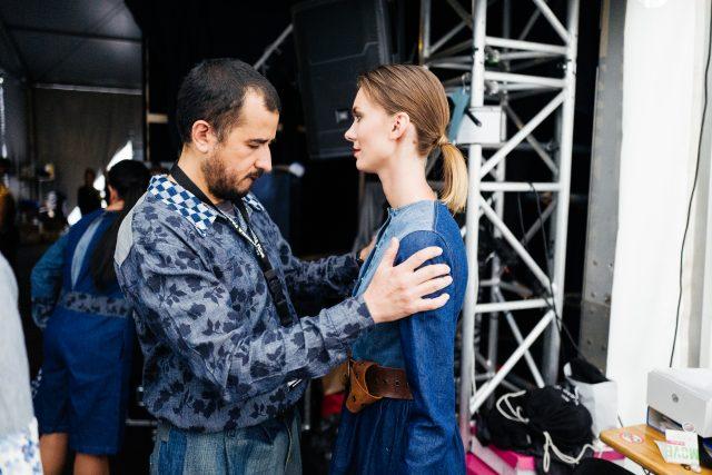 Menabò, agenzia di comunicazione a Forlì, per Juan Carlos Gordillo by TENCEL™ Denim – Backstage