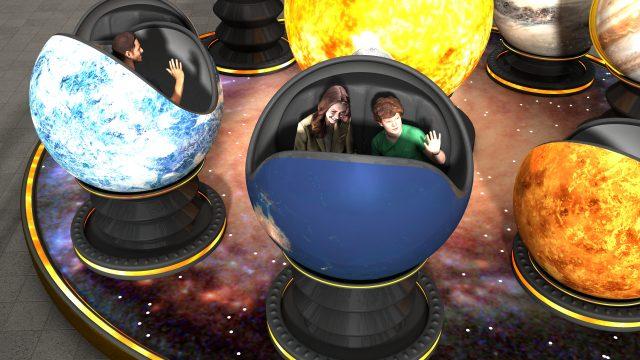 Video Giostra Copernicus – Menabò – Emiliana Luna Park