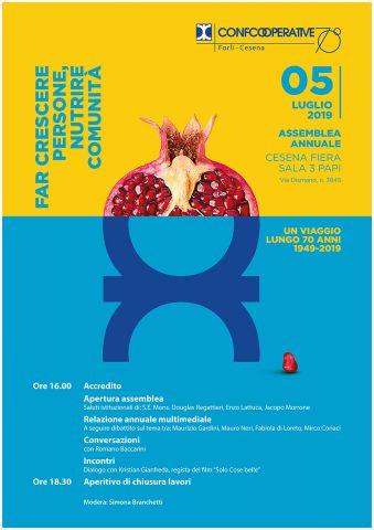 Confcooperative Assemblea 2019 – Menabò Group – Locandina Evento