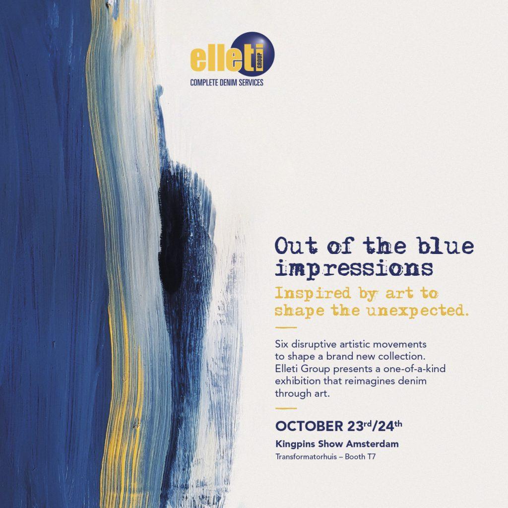 Menabò per Elleti Group: invito realizzato in occasione della partecipazione a Kingpins Show Amsterdam