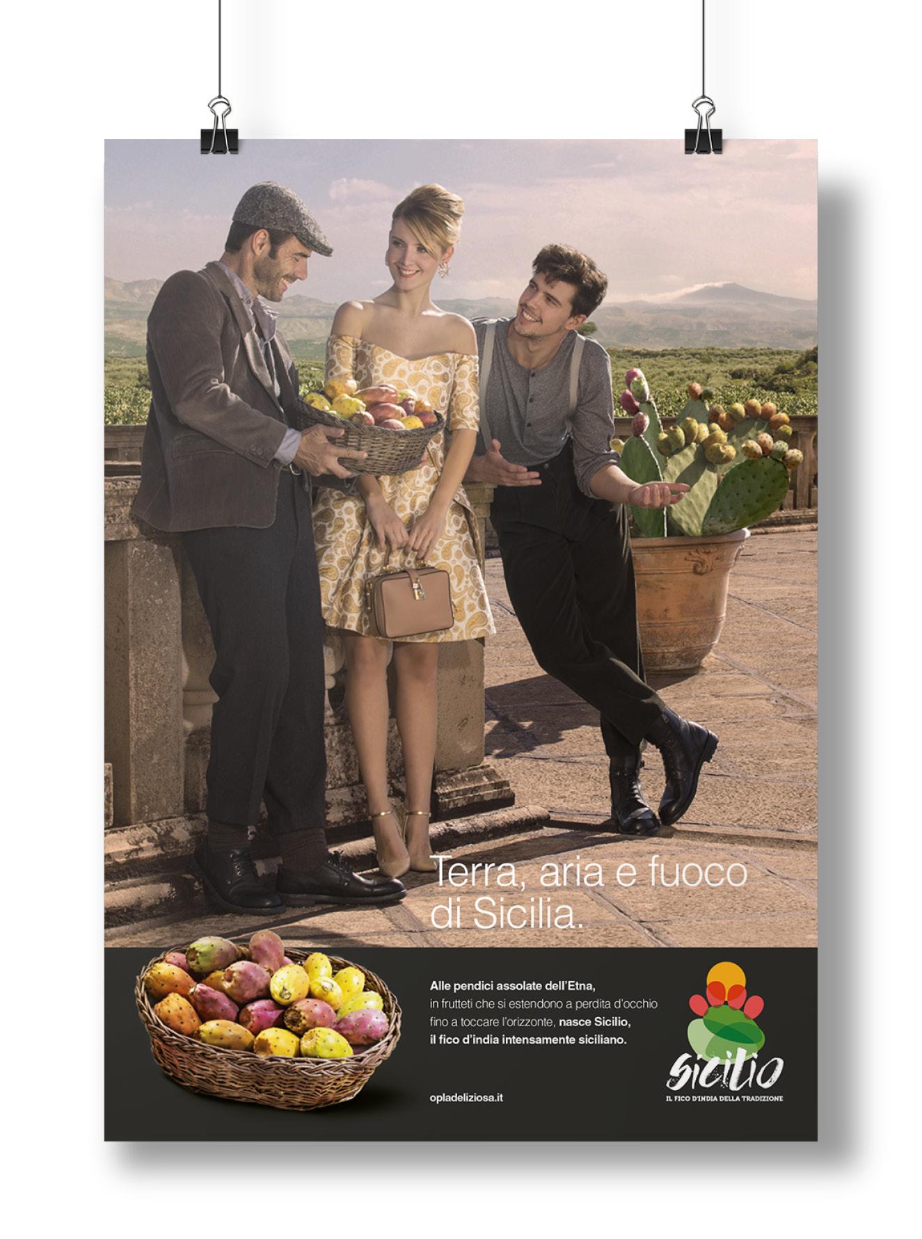Menabò - agenzia di comunicazione a Forlì - OP La deliziosa manifesto