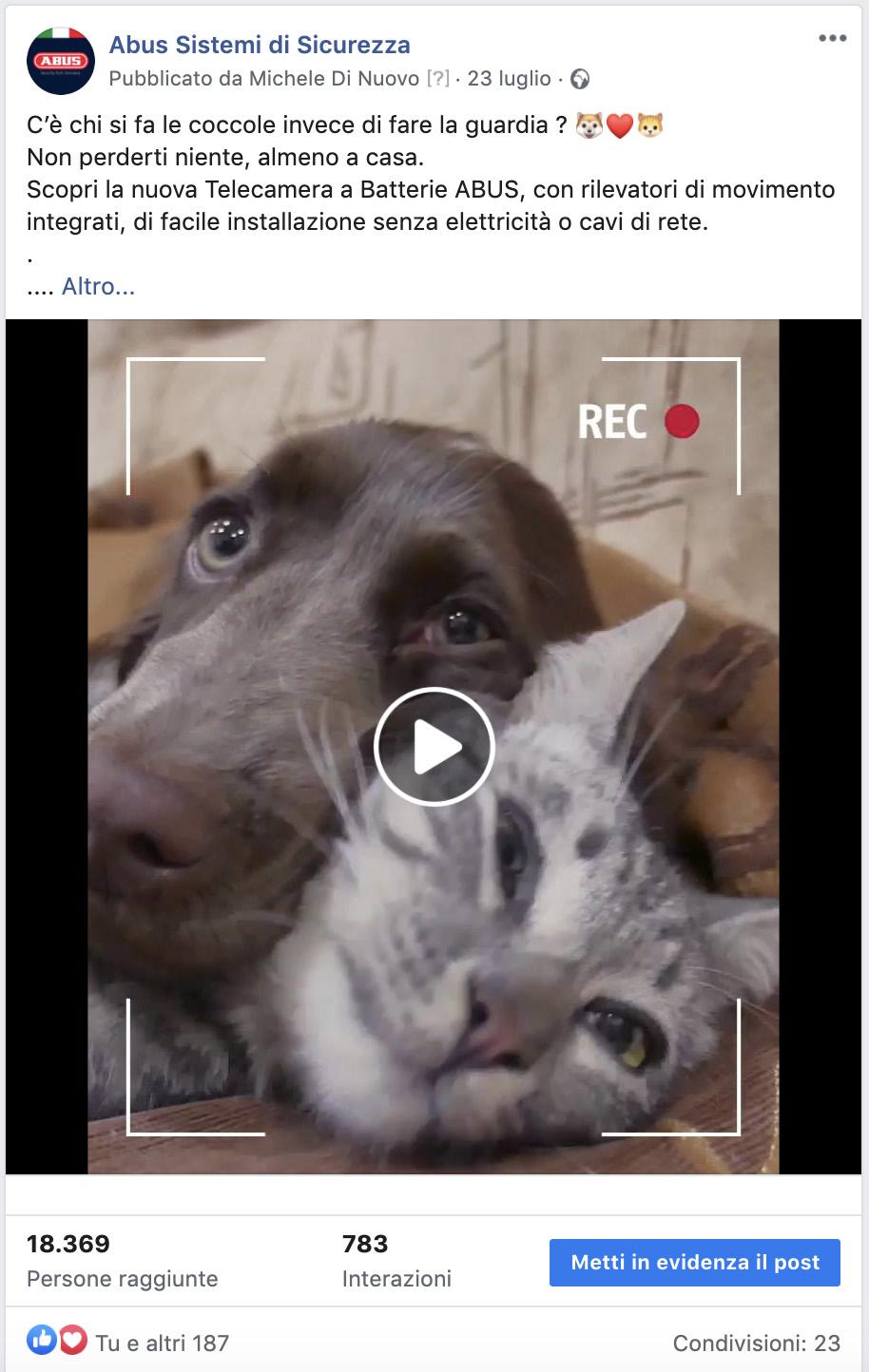 Menabò agenzia di comunicazione - news - ABUS campagna social